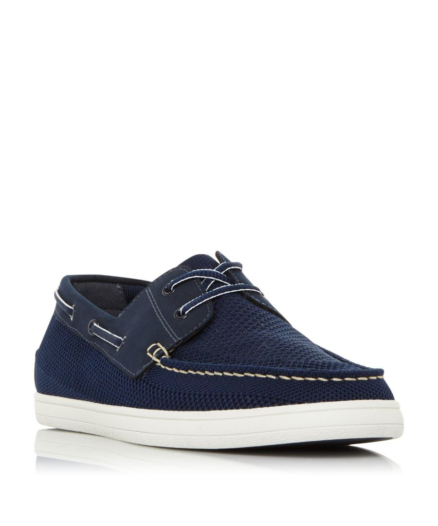 Image for Dune Mens BONAVISTA Mesh Boat Shoe