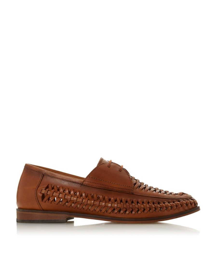 Image for Bertie Mens BONDIBEACH Lace Up Woven Loafer