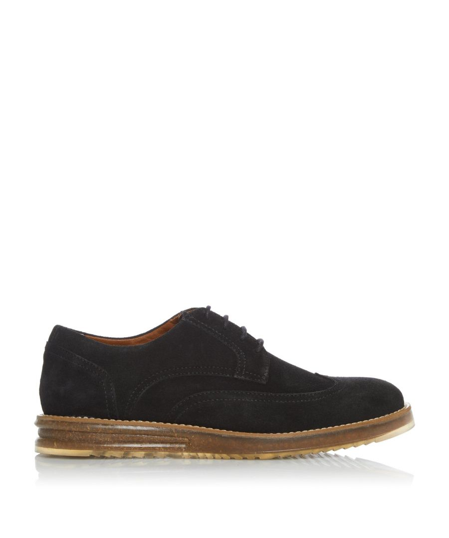 Image for Dune Mens BOOOM Casual Cork Wedge Lace Up Brogues