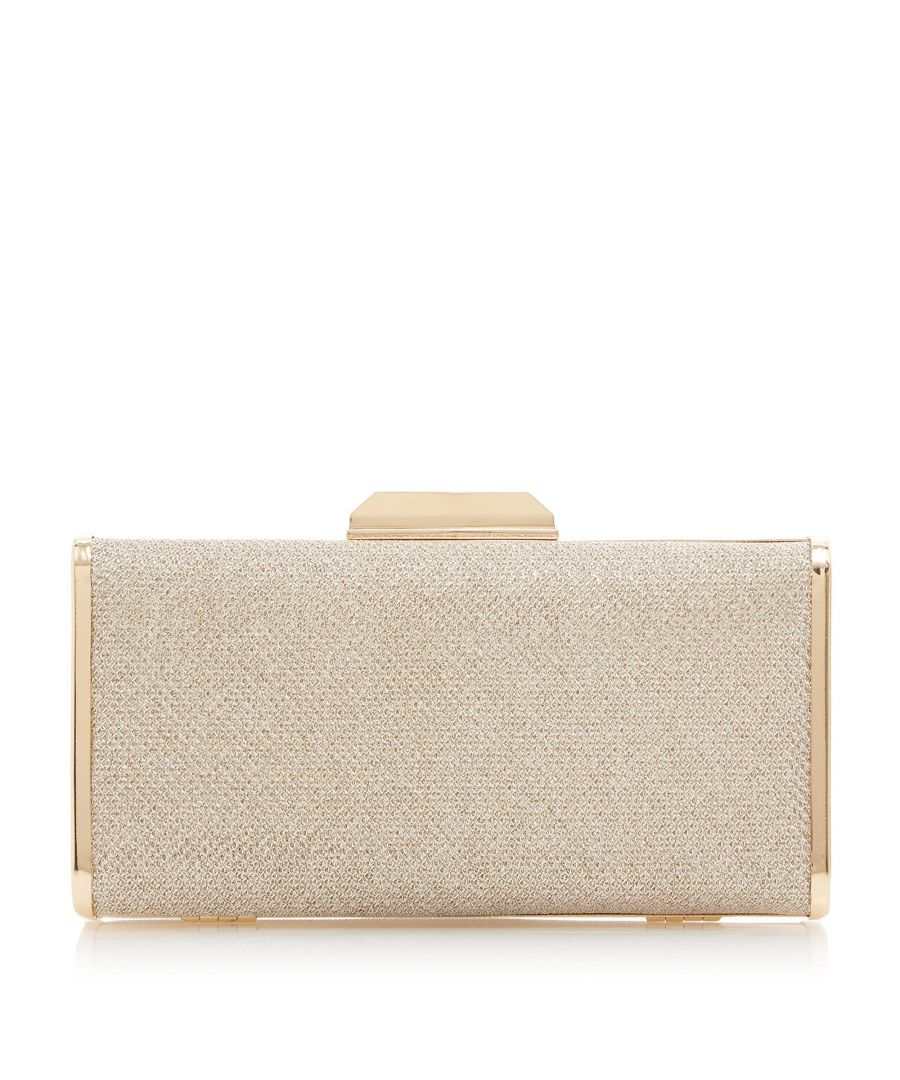Image for Dune BOXIEE Metal Trim Clutch Bag