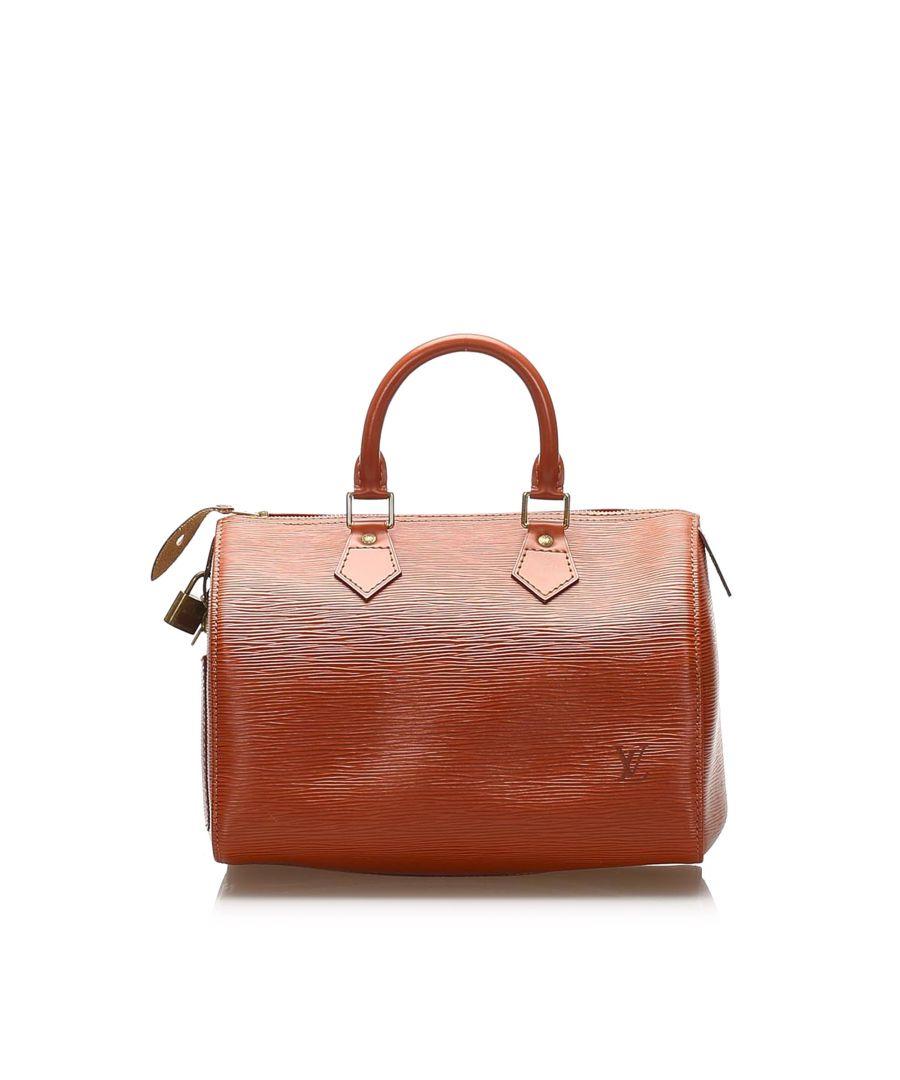 Image for Vintage Louis Vuitton Epi Speedy 25 Brown