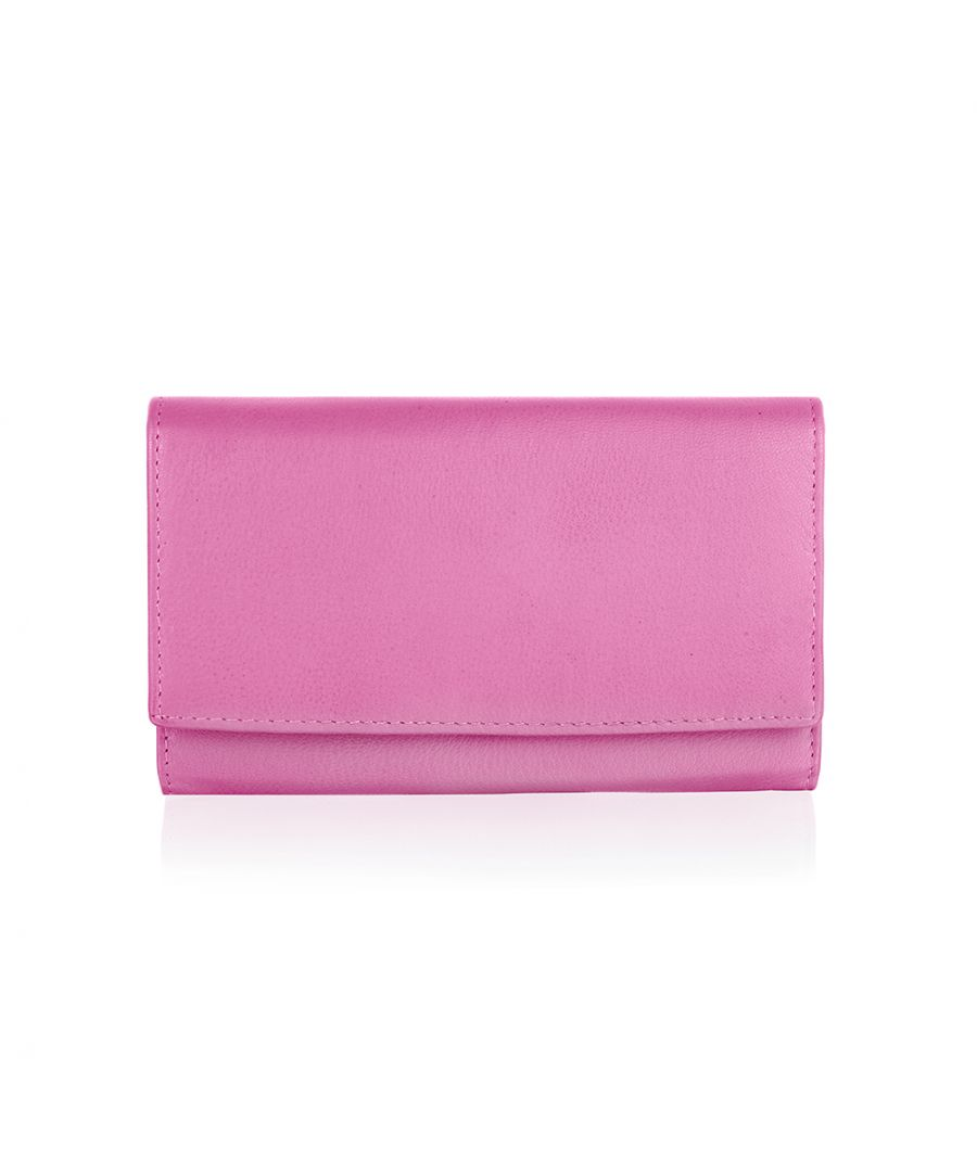 Image for Genuine leather organiser compartments purse by Woodland Leathers