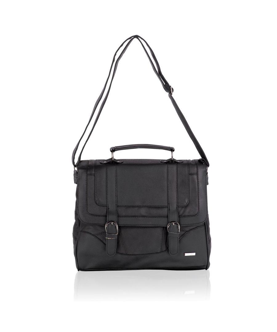 Image for Woodland Leather Black Leather 14