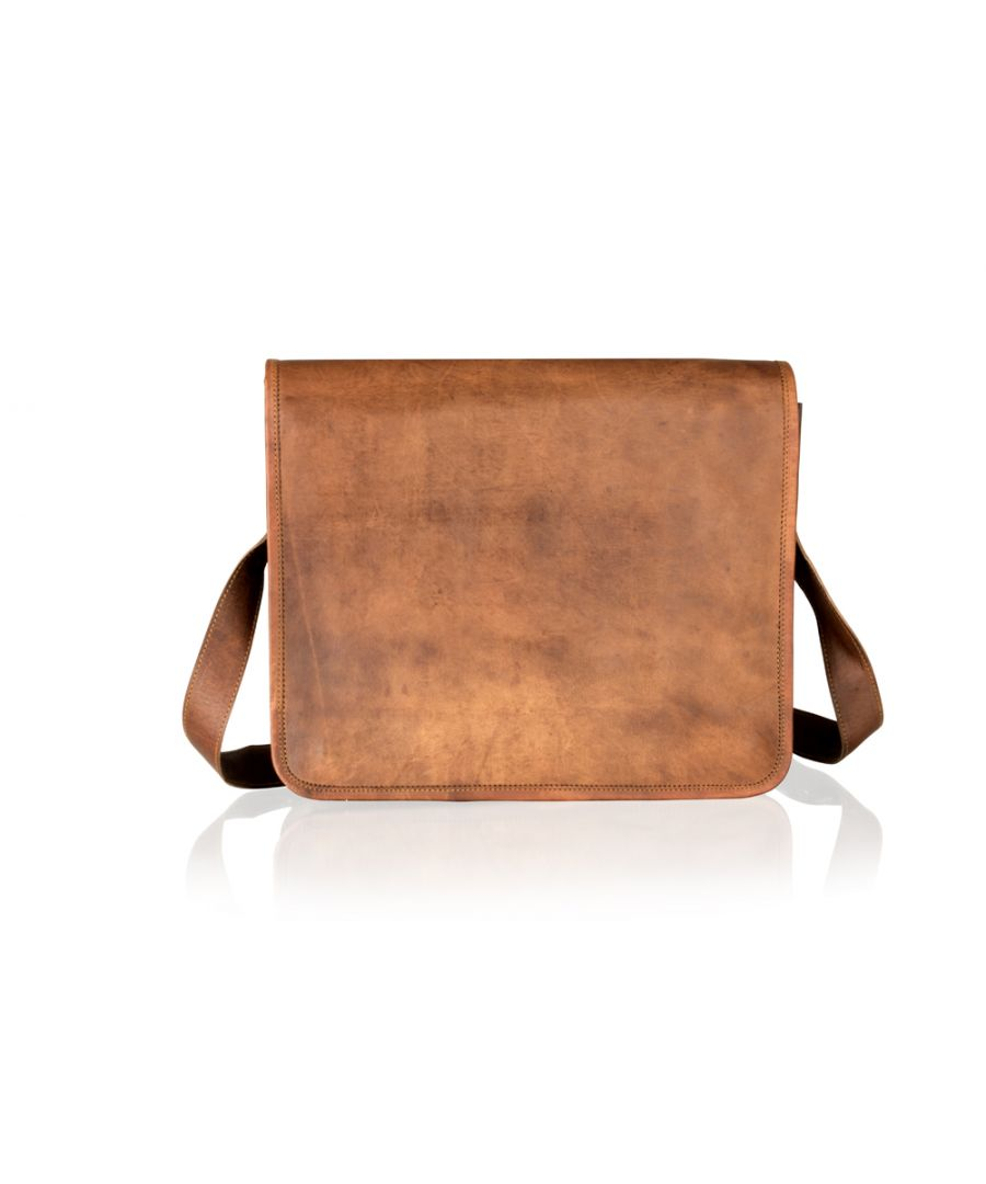 Image for Woodland Leather Tan Vintage 15