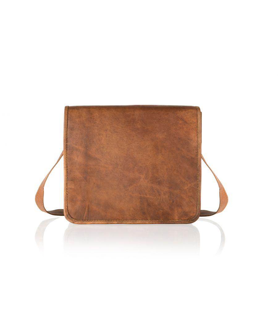 Image for Woodland Leather Tan Vintage 11