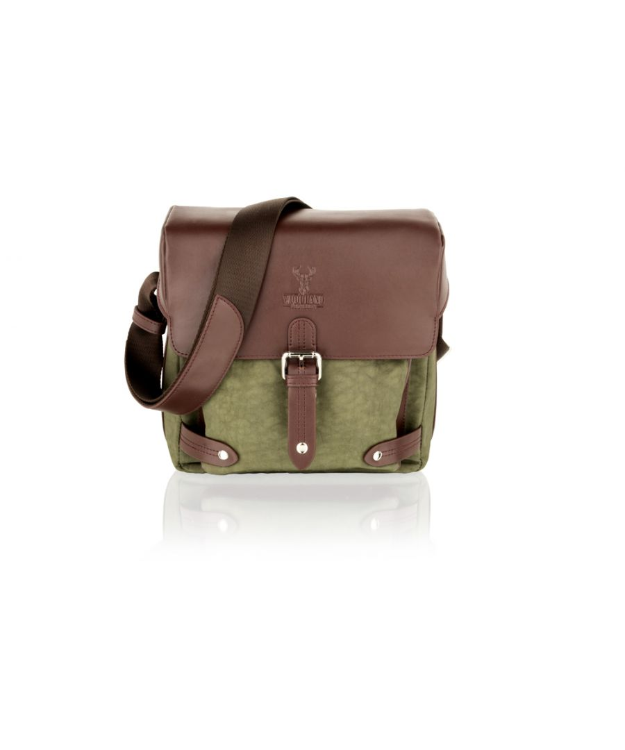 Image for Woodland Leather Olive Country 9.0