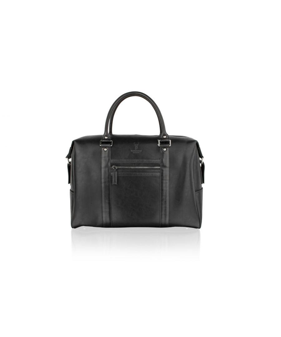 Image for Woodland Leather Black 18.0