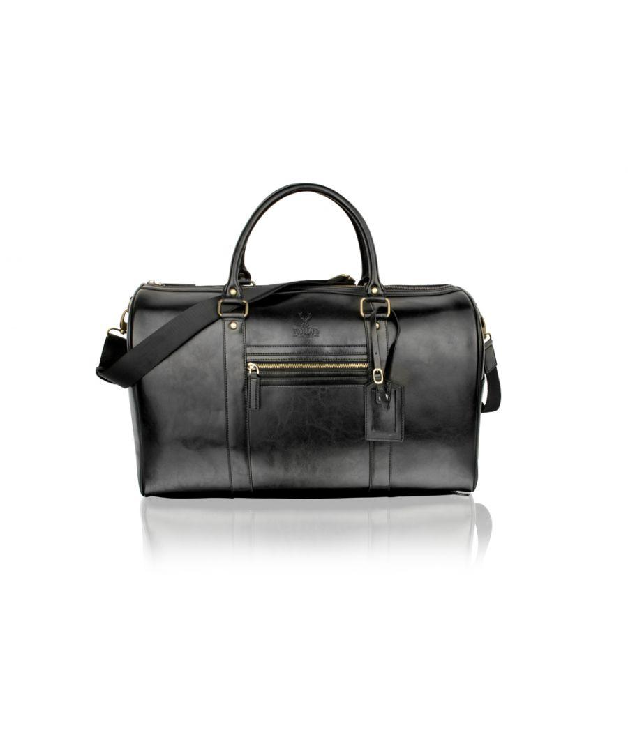 Image for Woodland Leather Black 18.5
