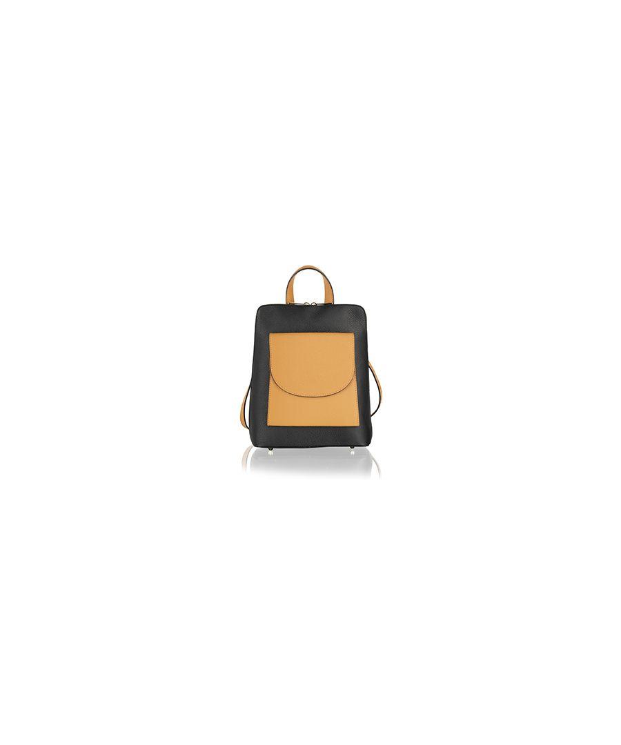 Image for Genuine Italian leather multi-way versatile handbag, rucksack, shoulder bag by Woodland Leathers