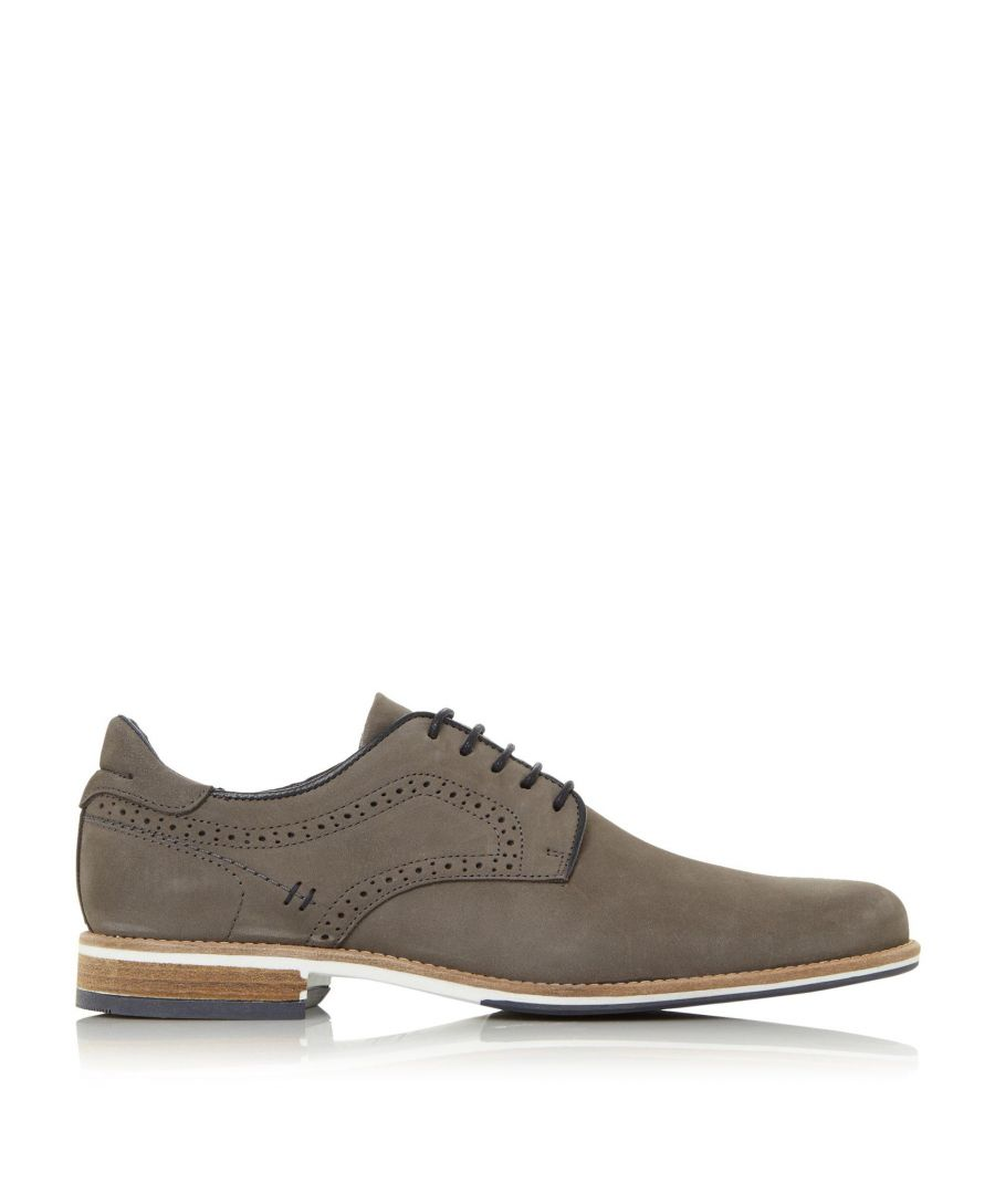 Image for Dune Mens BRAMPTON Piped Gibson Shoes