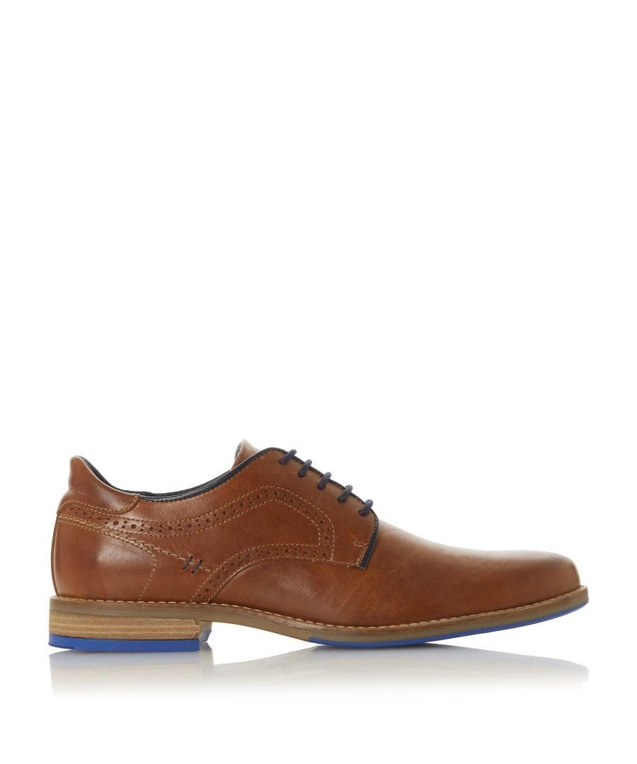 Image for Dune Mens BRAMPTON Piped Gibson Shoe