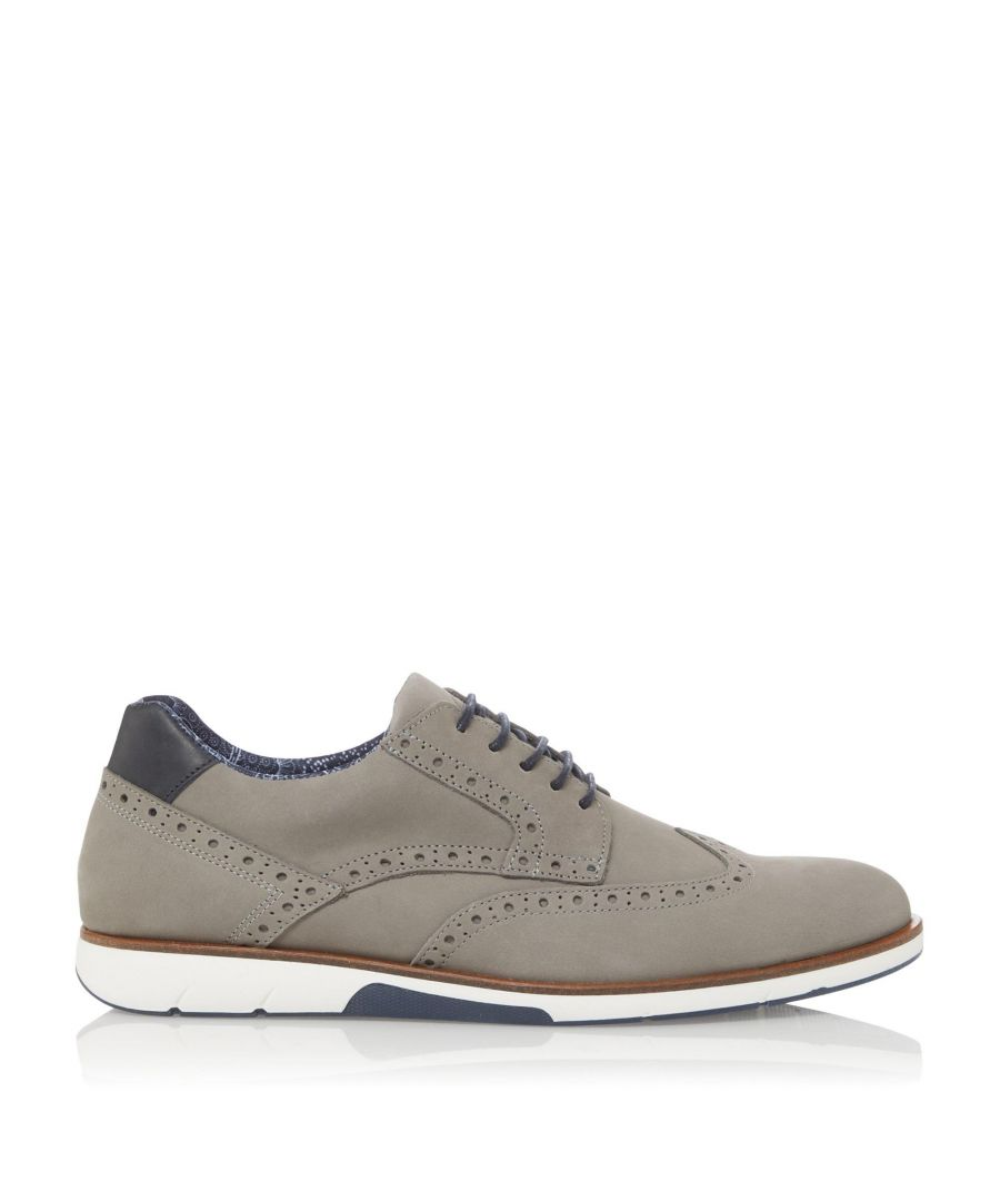 Image for Dune Mens BRAWL Lace Up Brogue Shoes