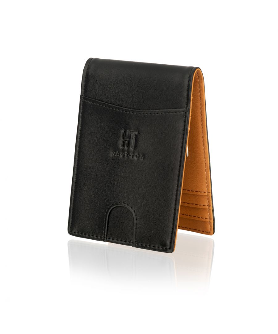"Image for Woodland Leather 4.5"" Multi Credit Card Wallet With Money Clip"