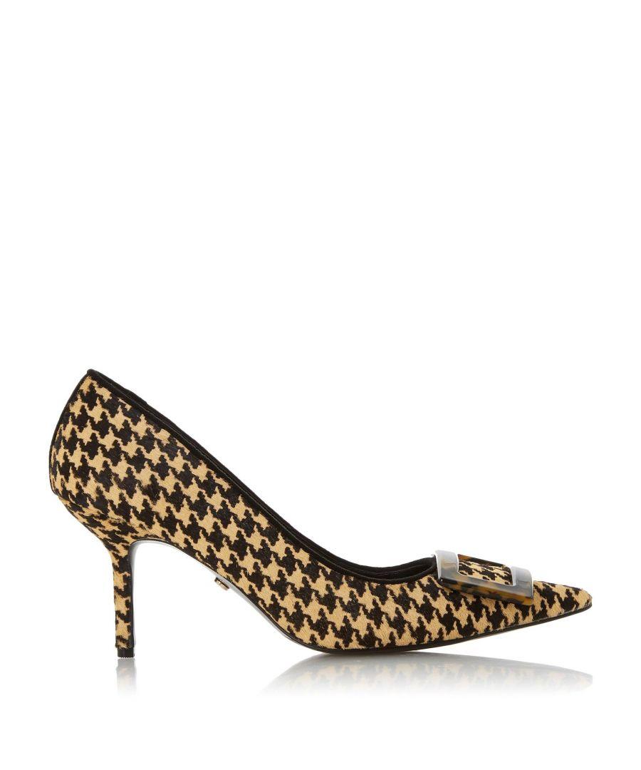 Image for Dune Ladies BRINDA Square Buckle Court Shoes