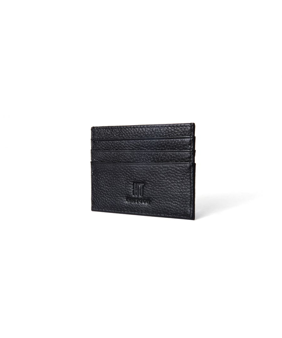 Image for Hautton Black Thin 6 Credit Card Holder