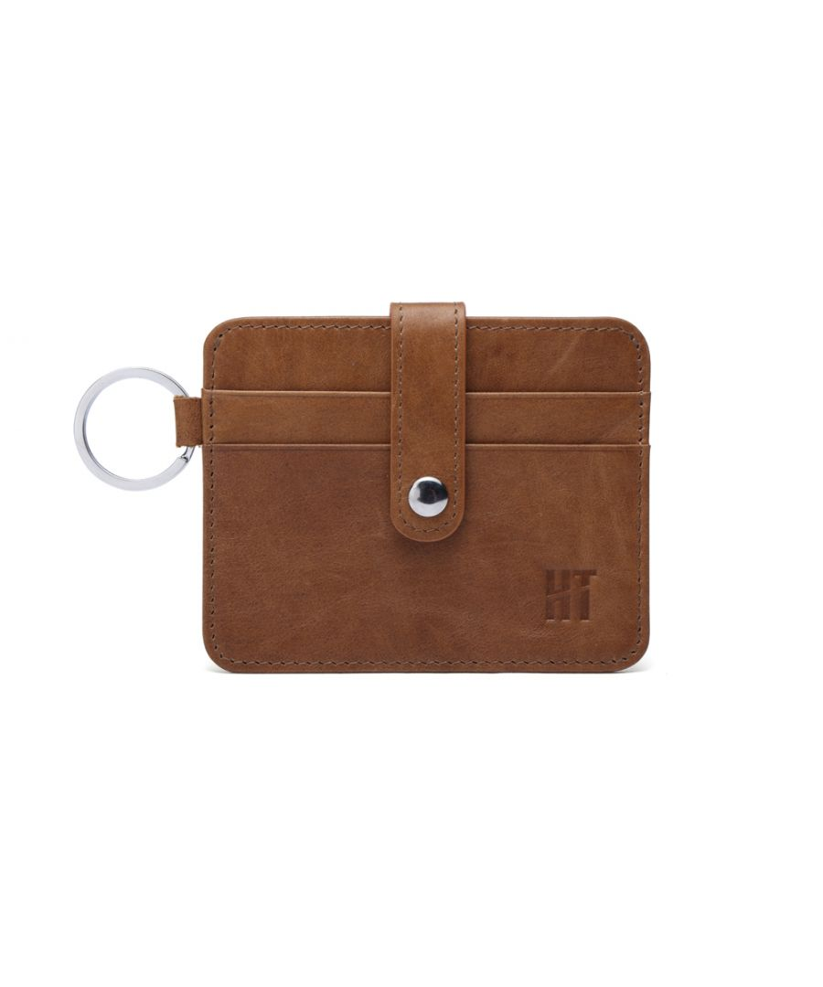 Image for Hautton Tan Thin 4 Credit Card Holder