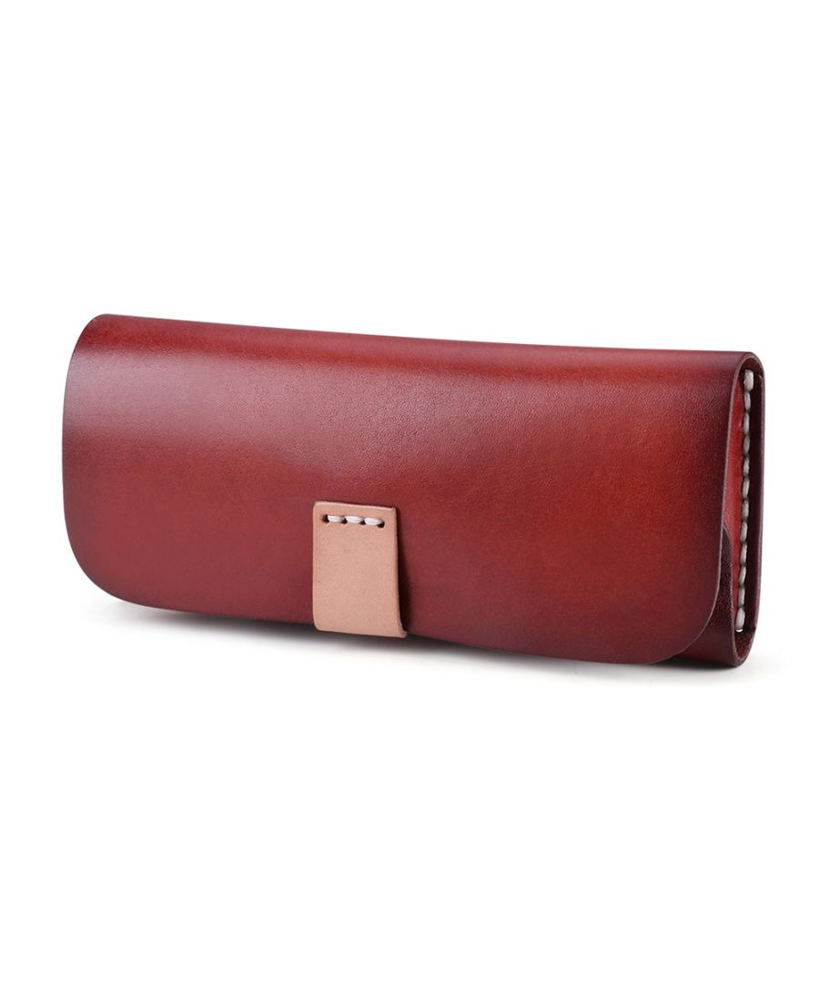 Image for Unisex Leather Glass Case
