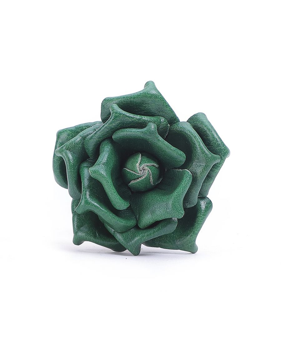 Image for Leather Rose Flower Accessory
