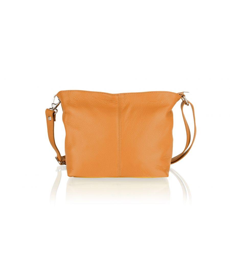 Image for Woodland Leather Tan Shoulder Bag 8.0