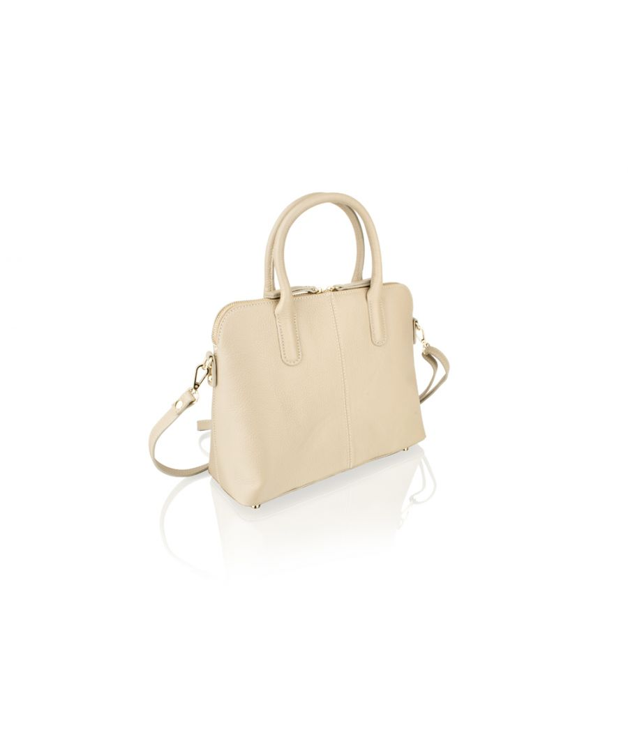 Image for Woodland Leather Tan Tote Bag 12.0