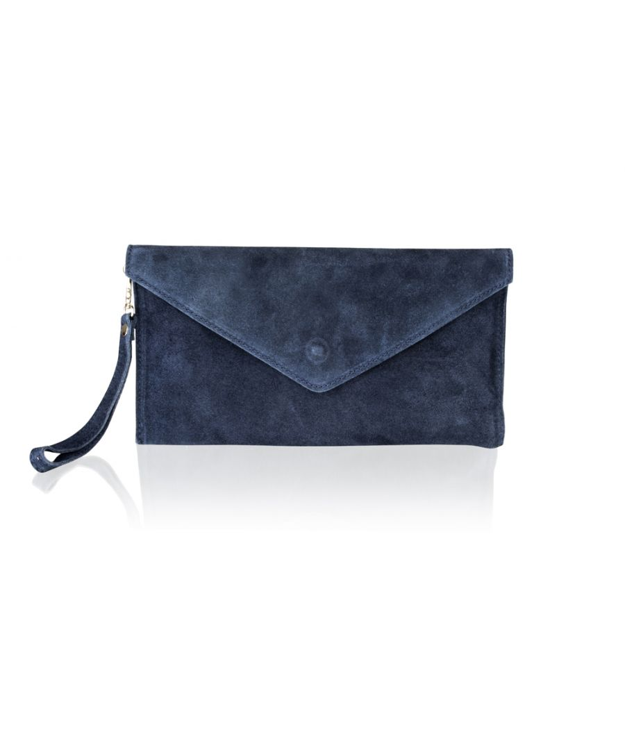 Image for Woodland Leather Navy Suede 12