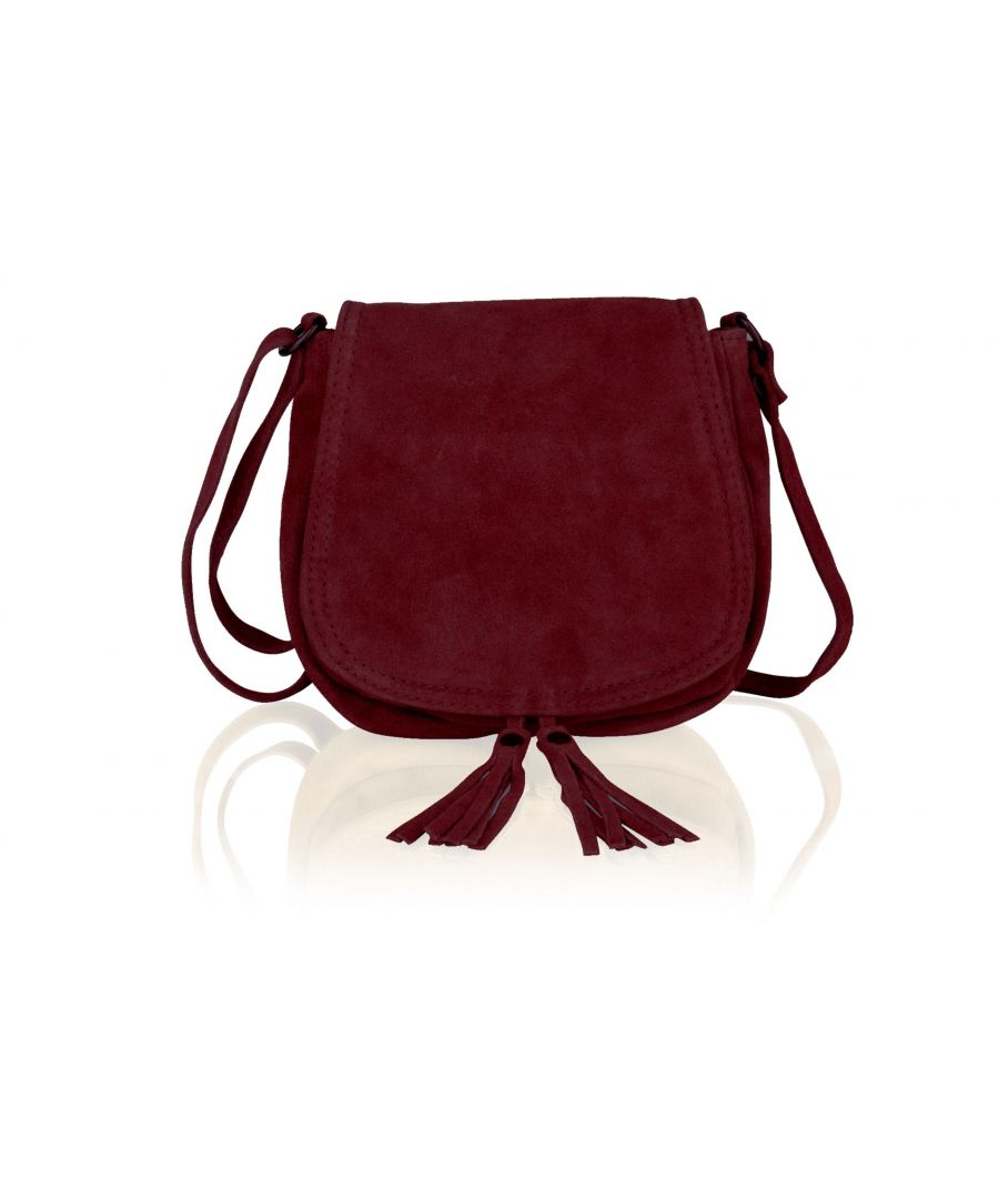 Image for Woodland Leather Navy Suede Small Flap Over 7.5