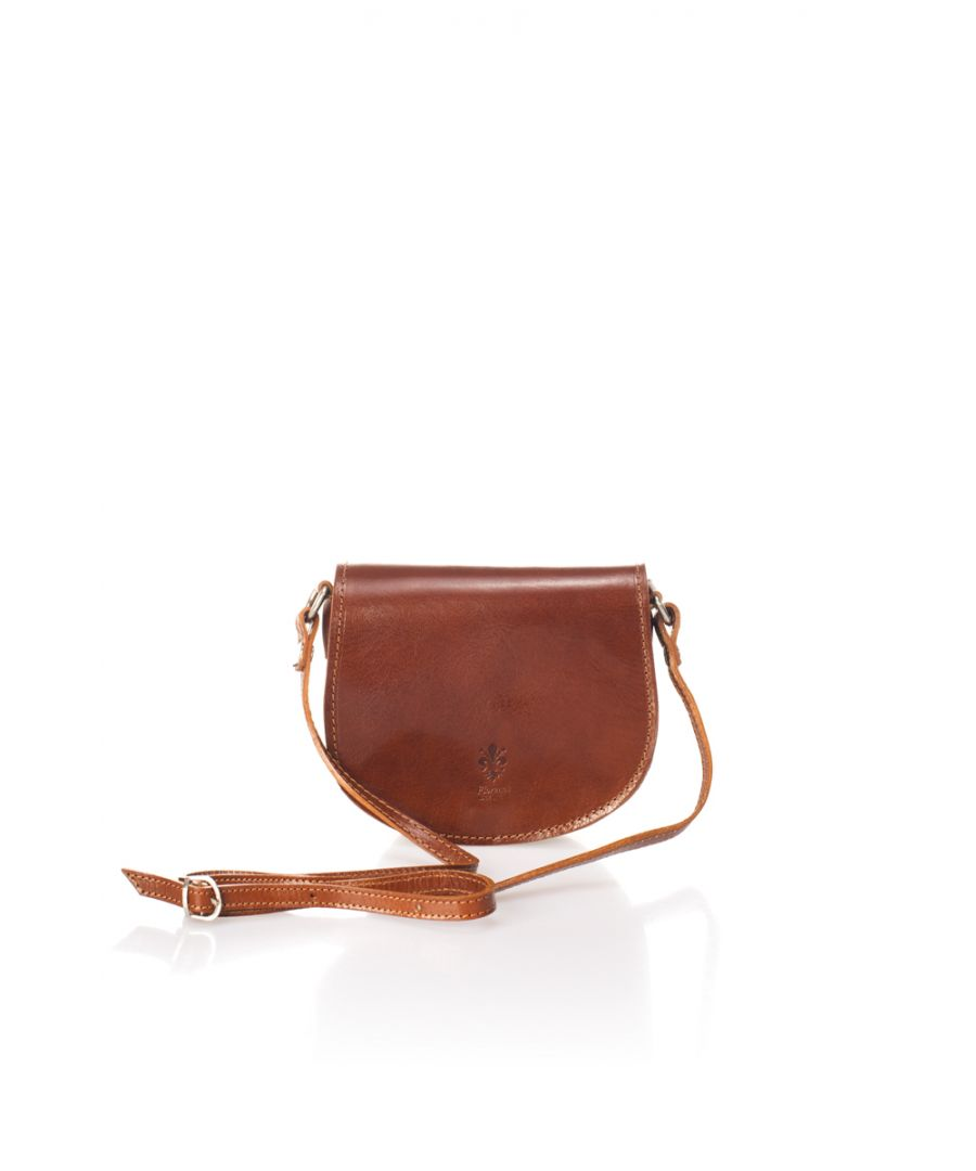 Image for Women's Classic Leather Crossbody Bag With Flap Closure