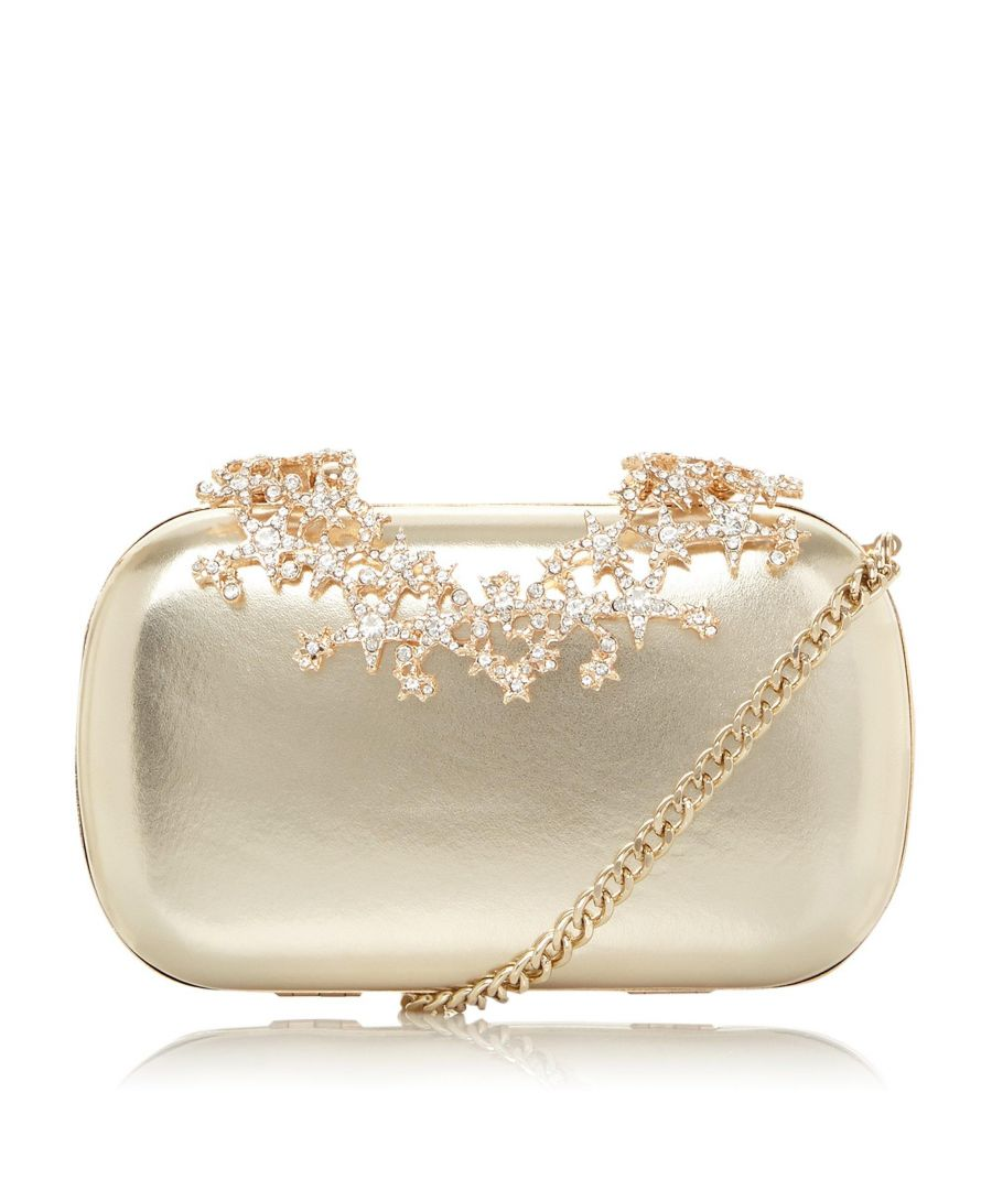 Image for Dune BSTARRY  Star Embellished Clasp Clutch Bag