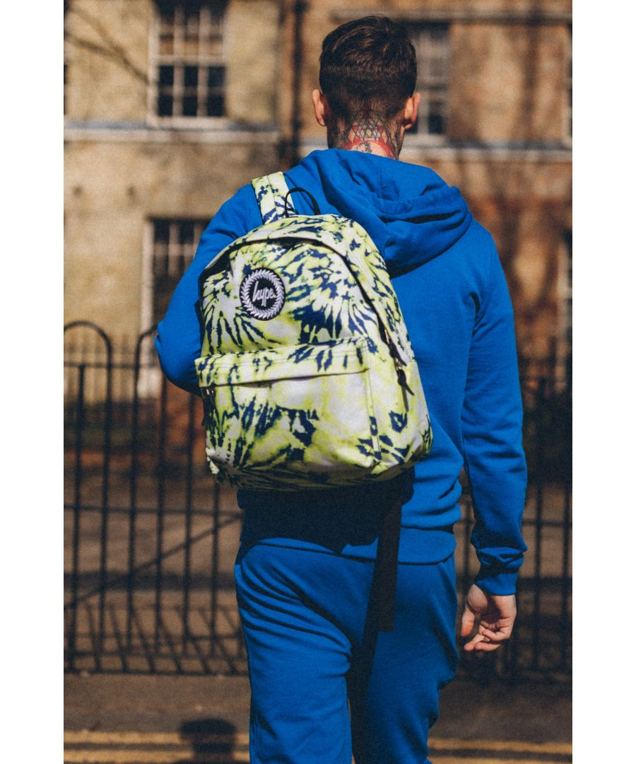 Image for Hype Yellow Tie Dye Backpack