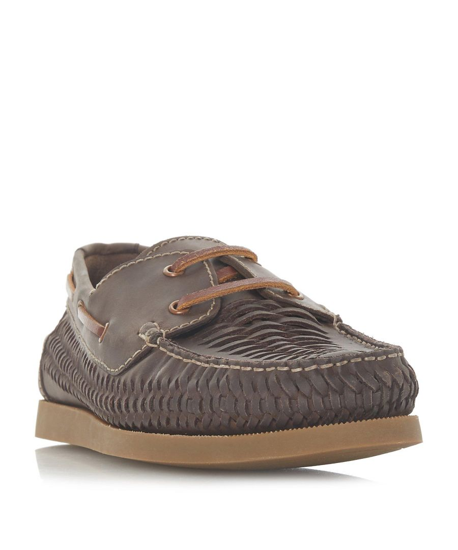 Image for Dune Mens BUGATTI Woven Boat Shoe