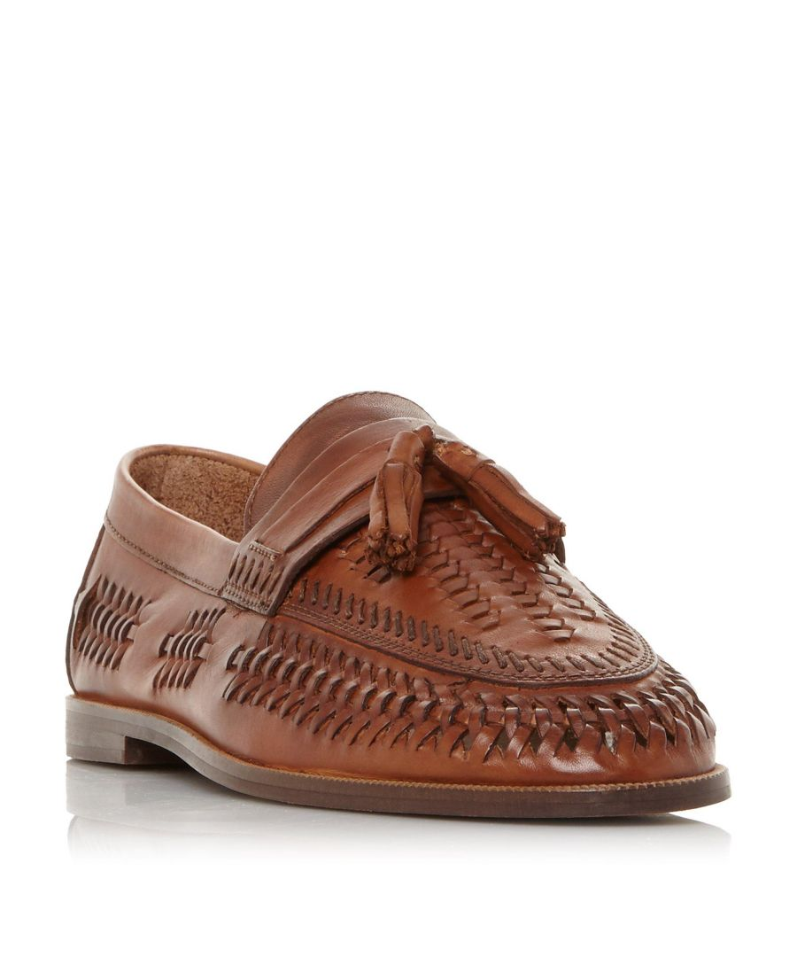Image for Dune Mens BURLINGTONS Woven Tassel Loafer