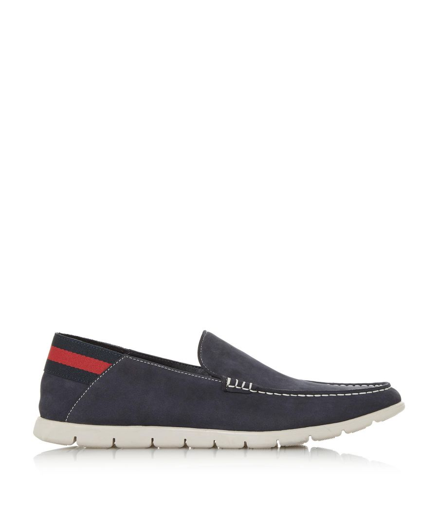 Image for Dune Mens BUSQUETS Contrast Sole Loafer Shoes