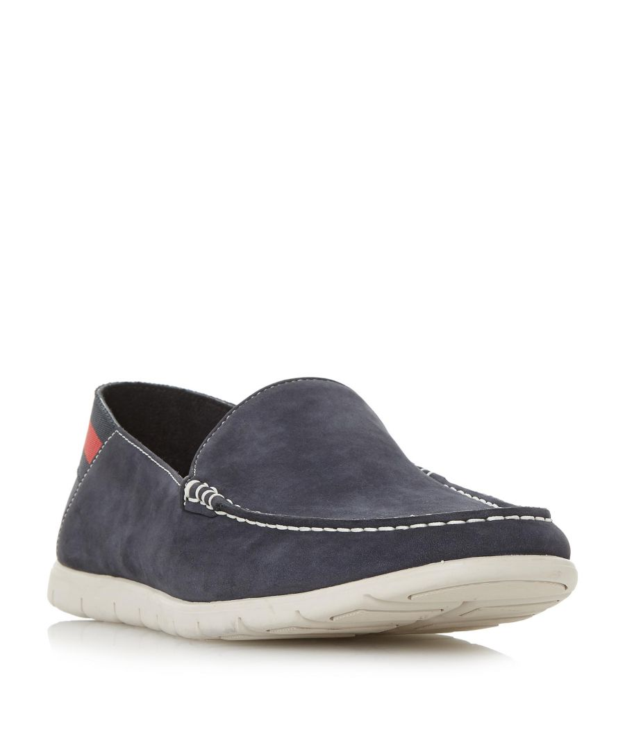 Image for Dune Mens BUSQUETS Contrast Sole Loafer Shoe
