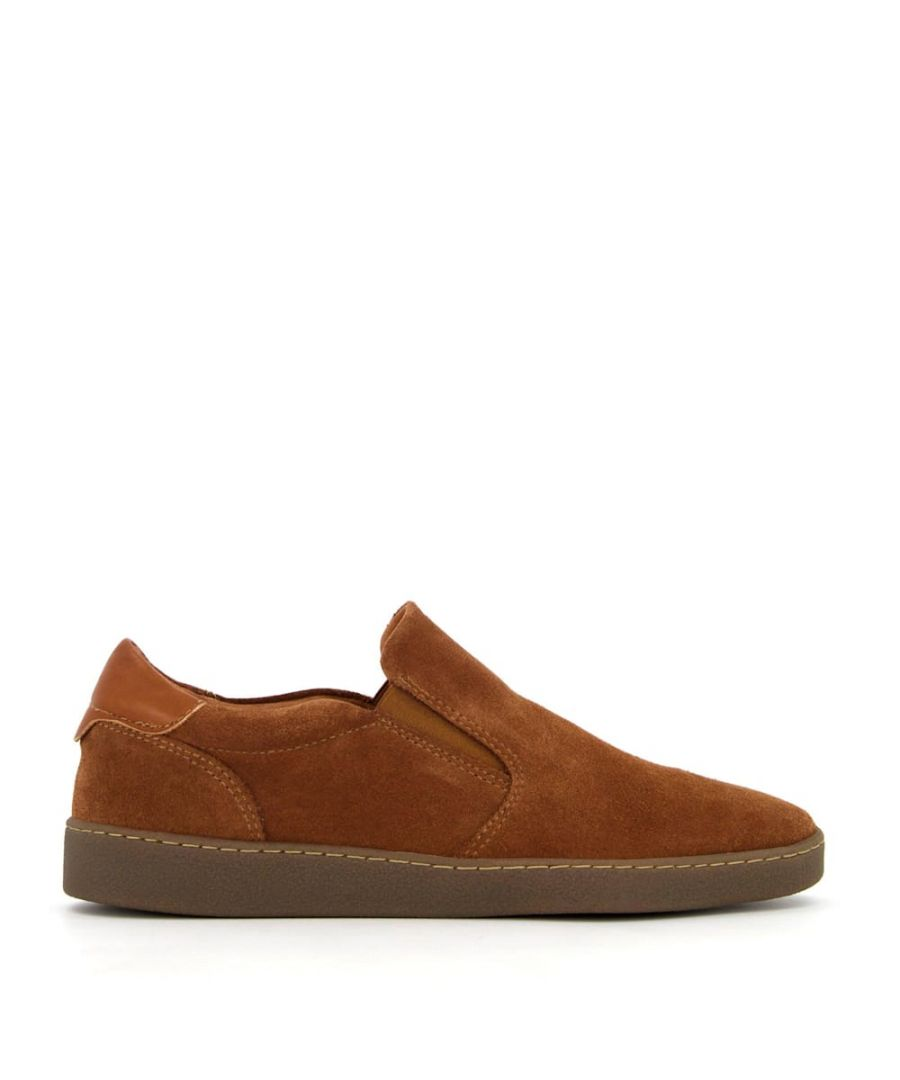 Image for Bertie Mens BUSTLER Suede Casual Shoes