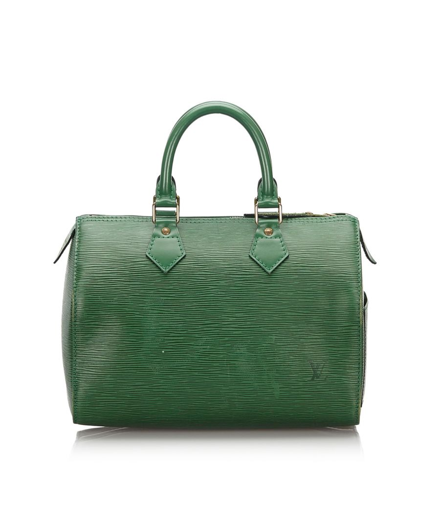 Image for Vintage Louis Vuitton Epi Speedy 25 Green