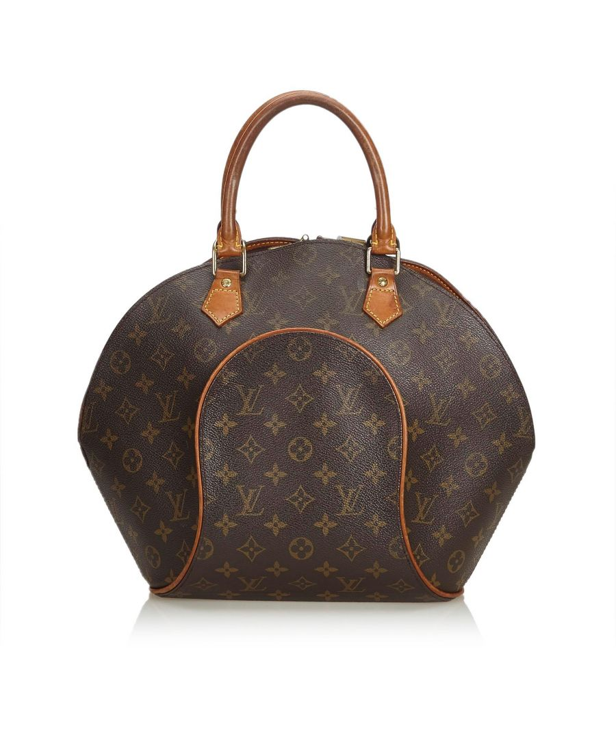 Image for Vintage Louis Vuitton Monogram Ellipse MM Brown