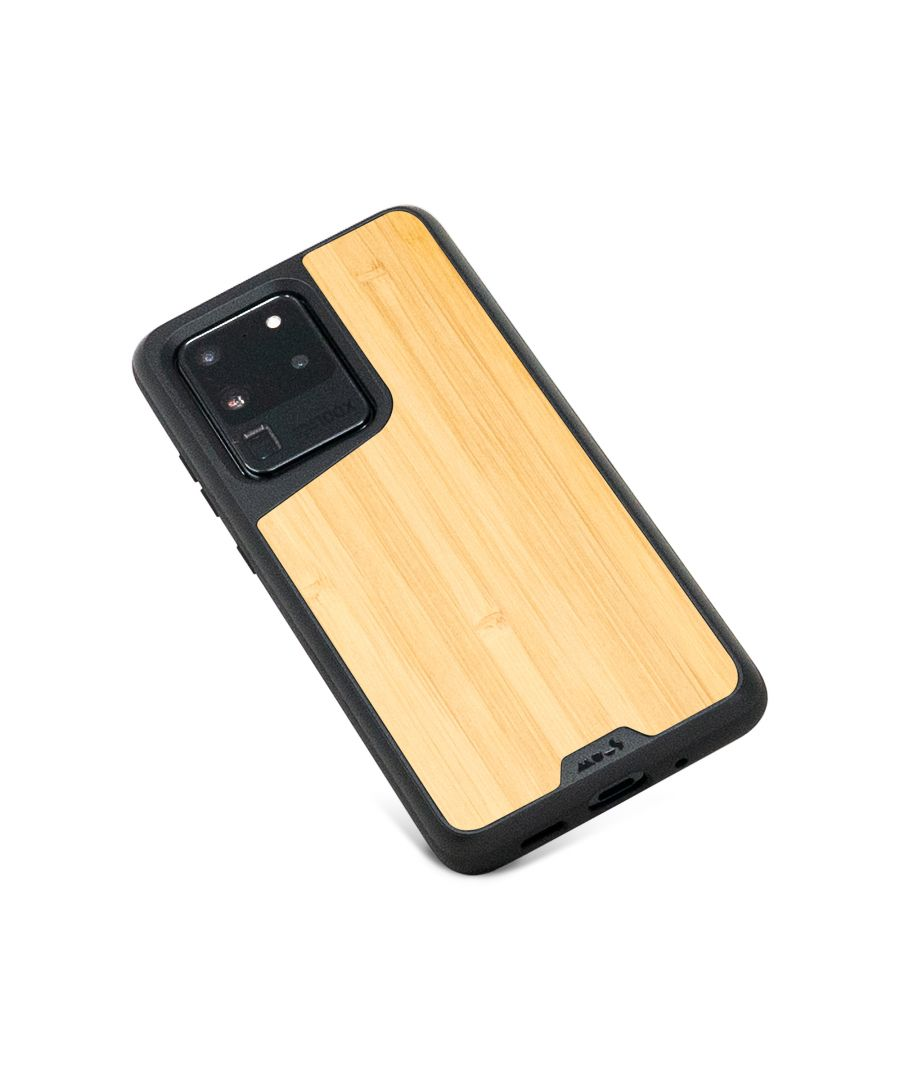 Image for Mous - Protective Case for Samsung Galaxy S20 Ultra - Limitless 3.0 - Bamboo - No Screen Protector