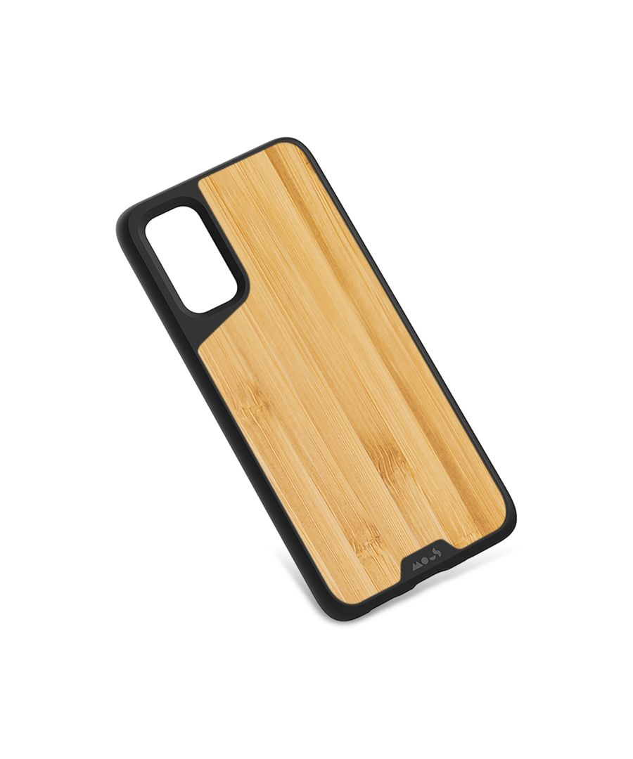 Image for Mous - Protective Case for Samsung Galaxy S20 - Limitless 3.0 - Bamboo - No Screen Protector