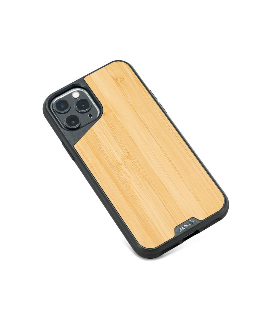 Image for Mous - Protective Case for iPhone 11 Pro - Limitless 3.0 - Bamboo - No Screen Protector