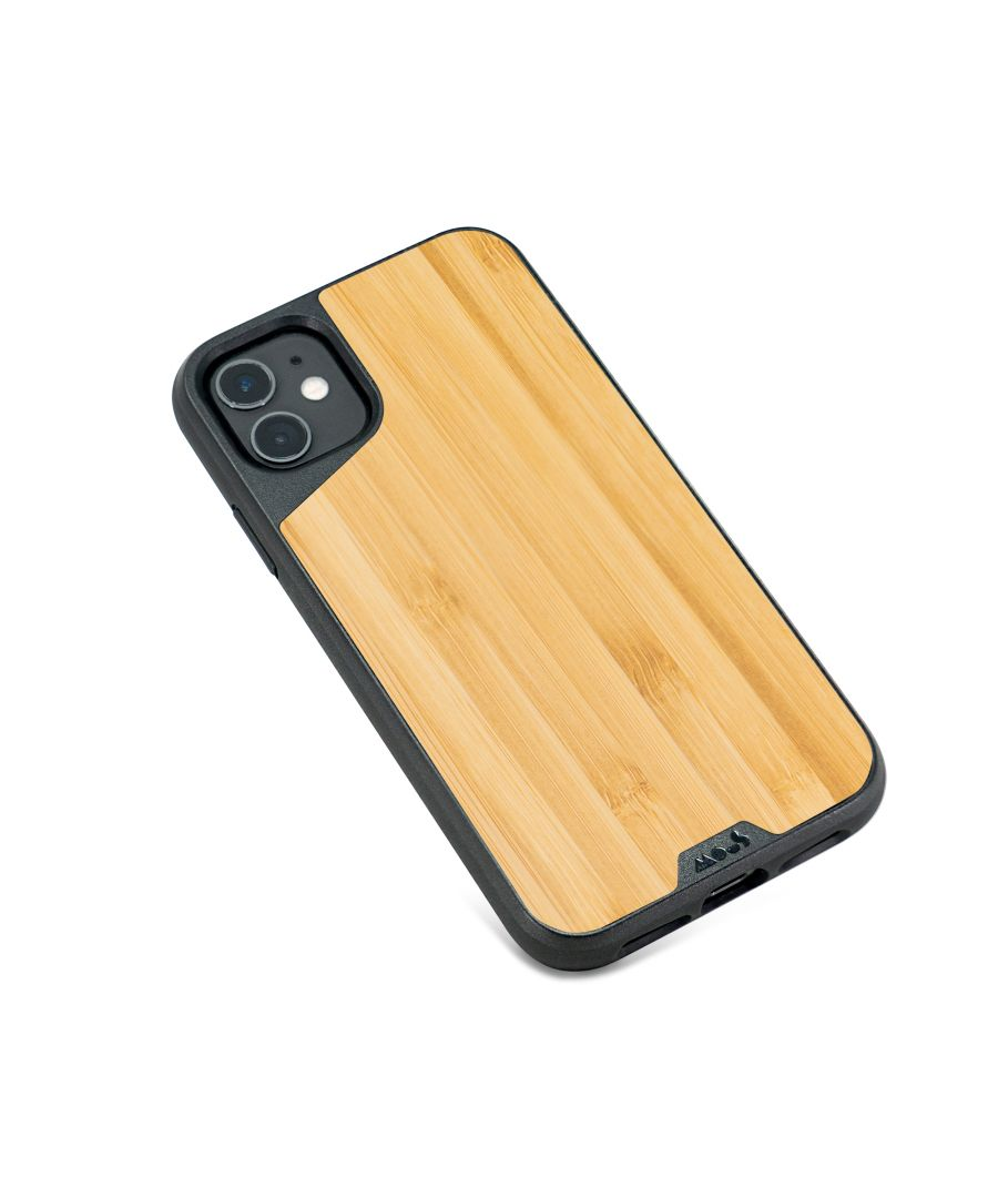 Image for Mous - Protective Case for iPhone 11 - Limitless 3.0 - Bamboo - No Screen Protector