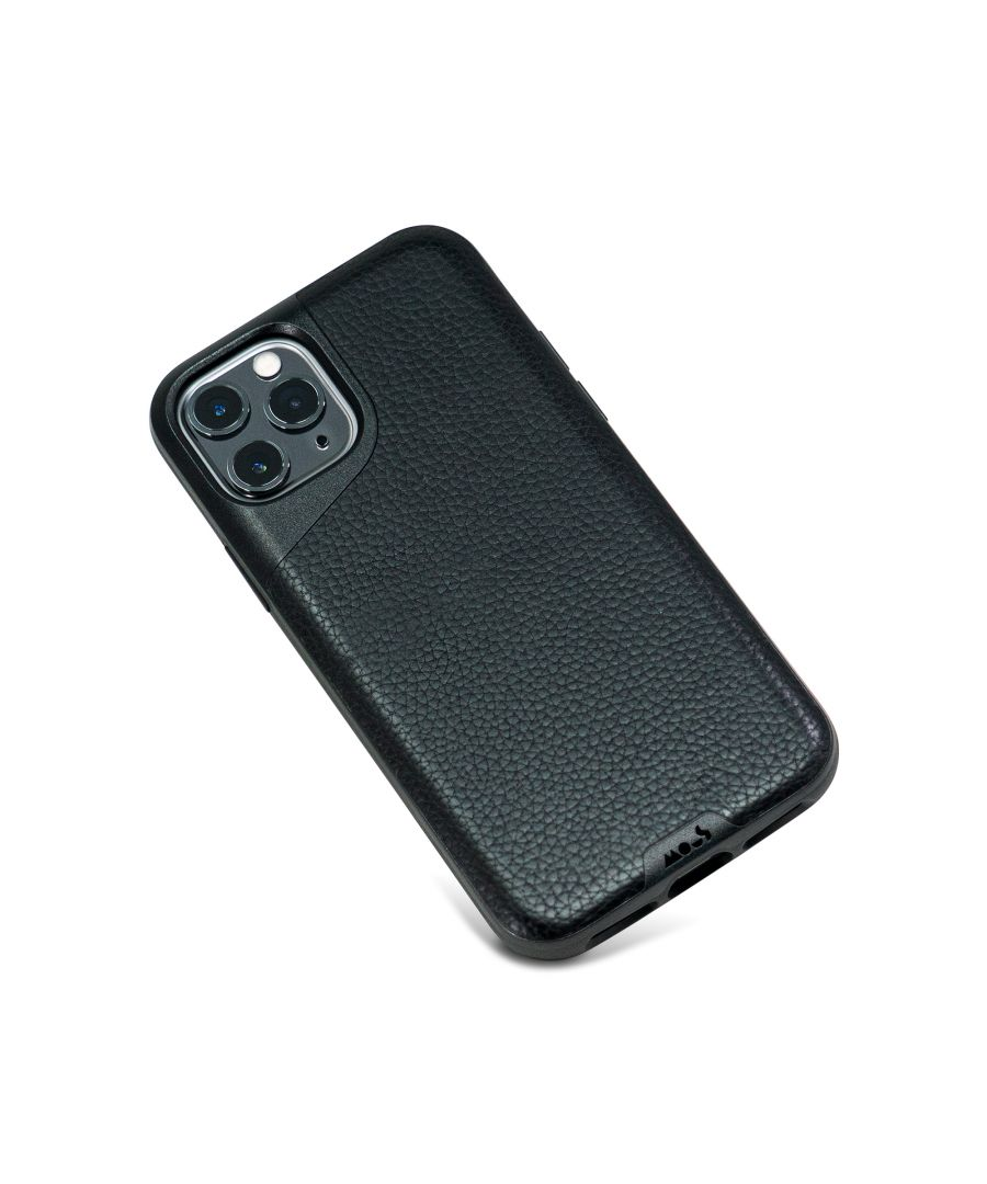 Image for Mous - Protective Case for iPhone 11 Pro - Contour - Black Leather - No Screen Protector
