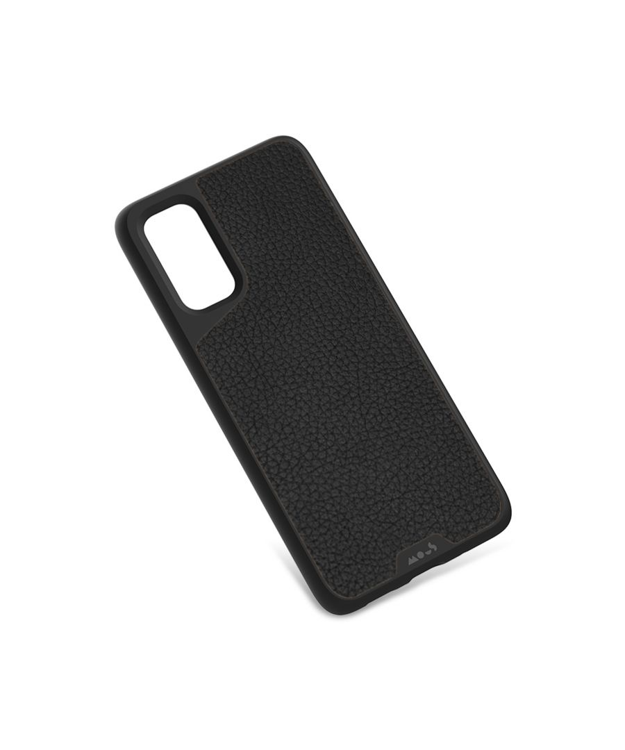 Image for Mous - Protective Case for Samsung Galaxy S20+ Plus - Limitless 3.0 - Black Leather - No Screen Protector