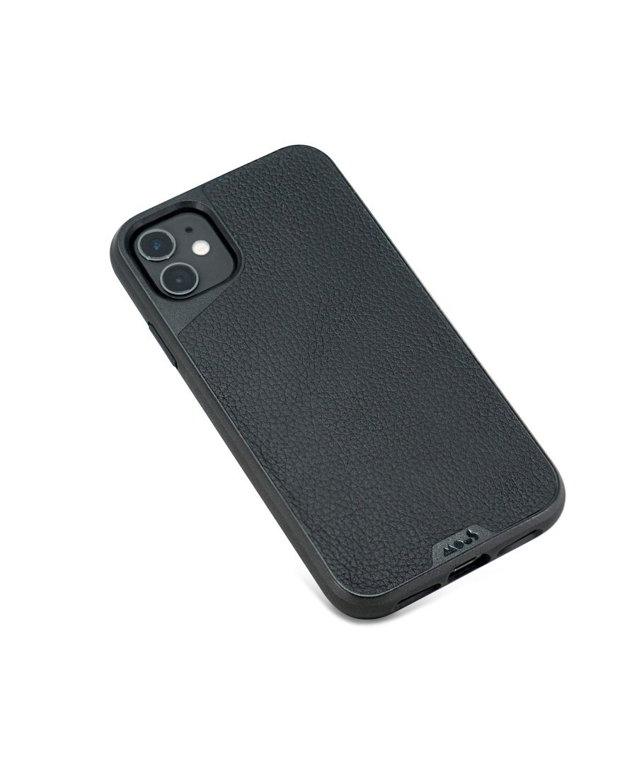 Image for Mous - Protective Case for iPhone 11 - Limitless 3.0 - Black Leather - No Screen Protector