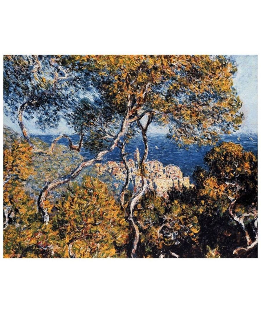 Image for Canvas Print - Bordighera - Claude Monet Cm. 80x100