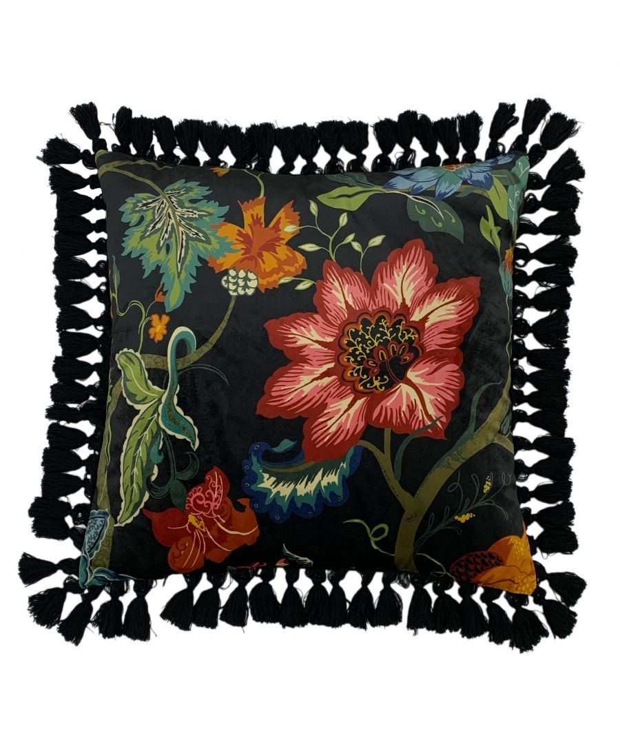 Image for Botanist 50X50 Poly Cushion Black