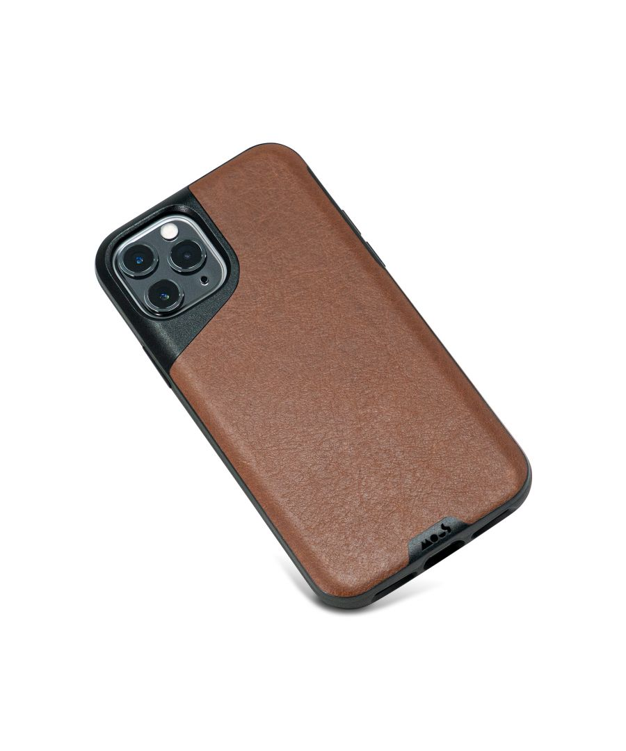 Image for Mous - Protective Case for iPhone 11 Pro - Contour - Brown Leather - No Screen Protector