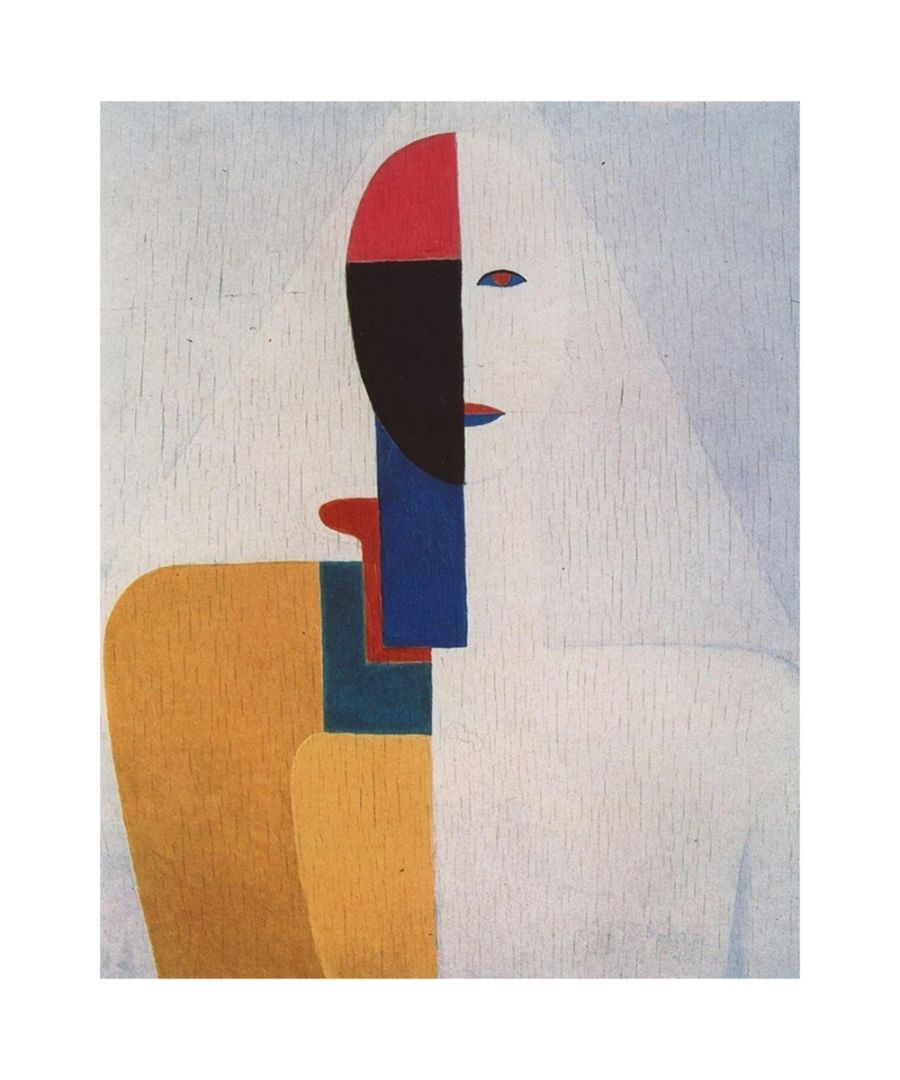 Image for Canvas Print - Female Torso - Kazimir Malevich Cm. 50x60