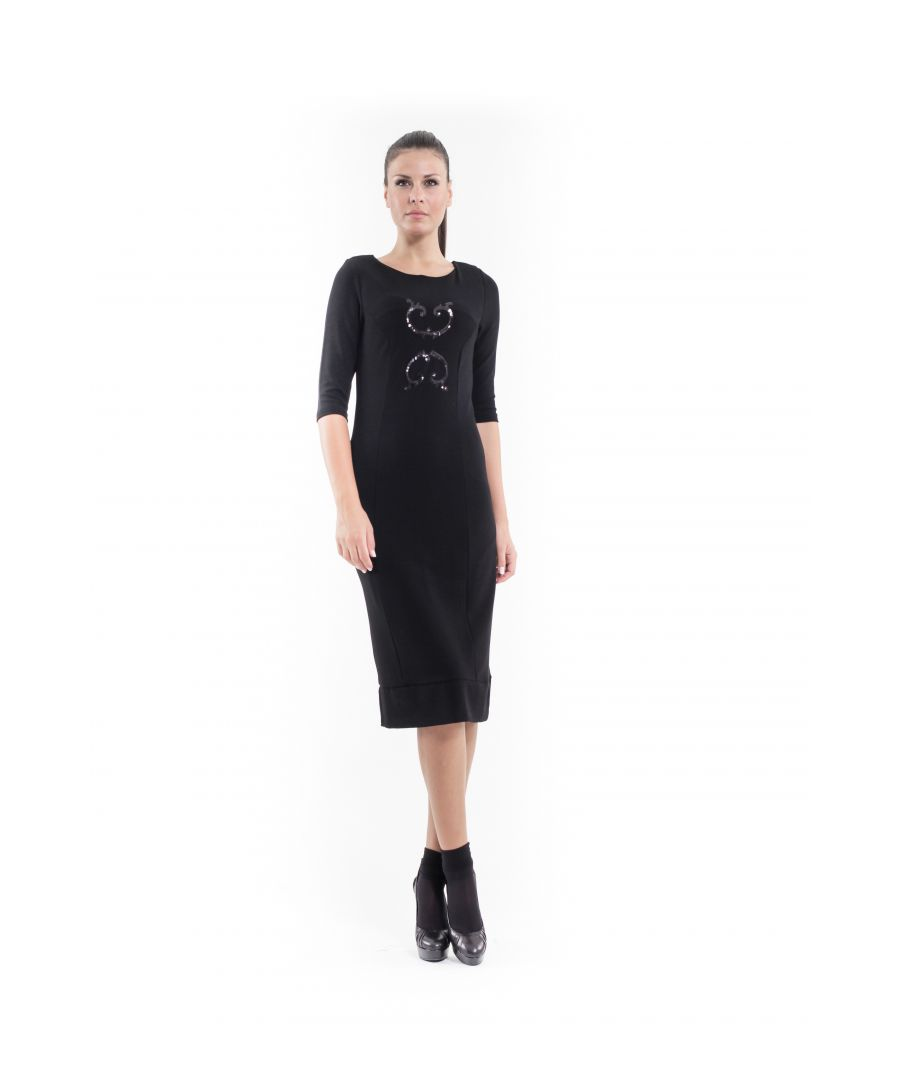 Image for Sequin Detail Stretch Dress