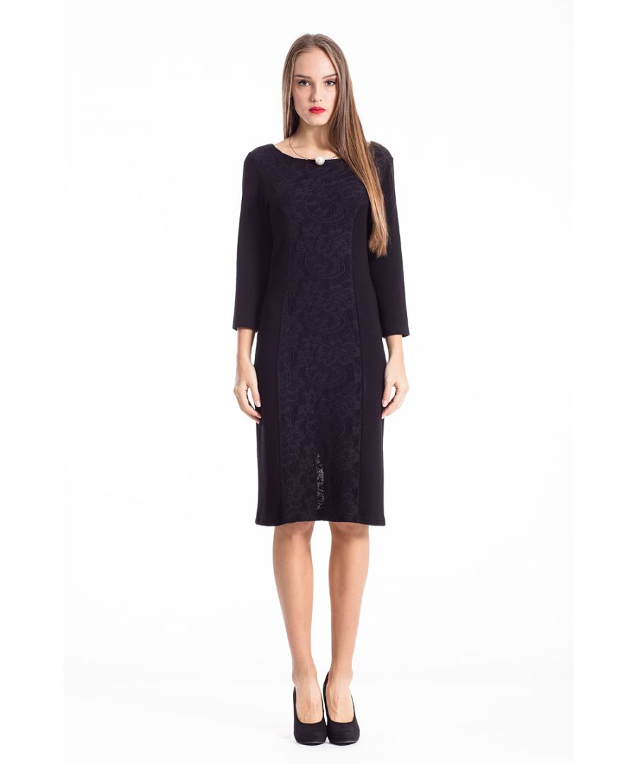 Image for Lace Detail Stretch Dress