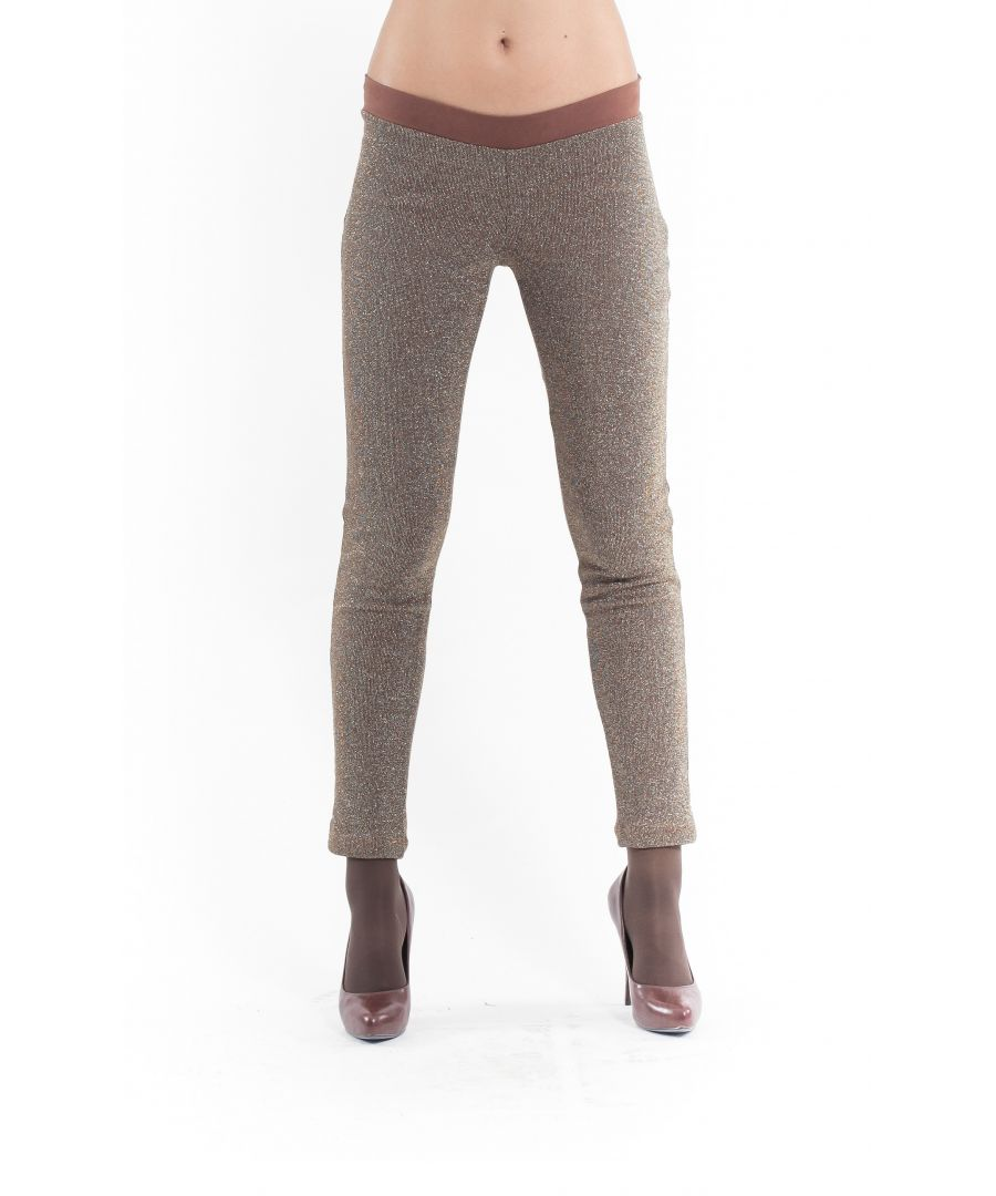 Image for Lurex Leggings brown